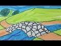 Comment dessiner un paysage facile