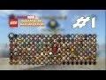 Lego Marvel - Les Personnages 1/3