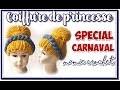Comment faire une perruque en laine pour déguisement de princesse carnaval  tuto, pas à pas, diy