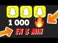 Comment avoir 1 000 FLAMMES SUR SNAPCHAT