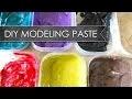 Comment réaliser votre pâte de texture en couleur