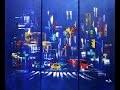 """Démo de la réalisation pas à pas du tableau """"New-York"""" par Axelle BOSLER Artite peintre"""