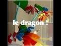 Activité manuelle pour enfant: le dragon !