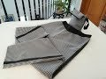 Couture facile, Coudre  Pantalon Style armani-Couture Anaïs