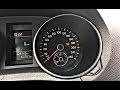 COMMENT ÉTEINDRE LE VOYANT PRESSIONS DE PNEUS VW (GOLF.JETTA.PASSAT ETC..)