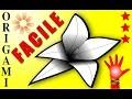 🔴Comment faire Pliage Fleur en Papier Facile origami bricolage👉Tuto simple