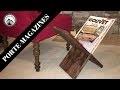 Fabrication d'un porte-magazines: Projet en bois facile SANS outils électriques!