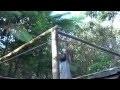 construction d'un carbet en bambou à TERRE D'EVEIL Guadeloupe
