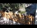 Construction d'une clôture en bois (Part 2/2)
