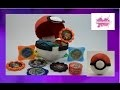 DIY. Faites votre propre Poké Ball en papier mâché// Do your Poké Ball with paper mache
