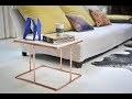 Comment fabriquer la table basse en bois et cuivre COPPER
