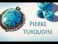 TUTO FIMO: Faire des pierres turquoise en fimo �