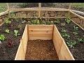 Comment construire un jardin potager en bois en forme de U- jardin potager en bois en forme de U