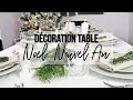 DECO table de Noel et du Nouvel An + DIY