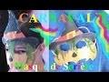 Fabriquer un masque Carnaval en carton de sorcière | Bricolage facile