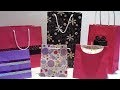 Comment faire un sac en papier facile et sur mesure - DIY sac cadeau rapide