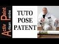 #TUTO PRO COMMENT poser une PATENT, PAPIER INTISSE a peindre, toile de verre lisse, papier peint.