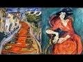 Chaim Soutine - Rouge comme la route qui monte au ciel
