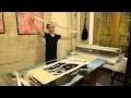 Maroufler et entoiler une peinture ATELIER SHANSHAN