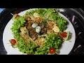 Salade verte aux gésiers et aux œufs de caille # SALADE BATIA GESIERS
