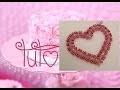 [TUTO] Pendentif cœur en perles