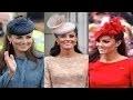 Les chapeaux de Kate Middleton.