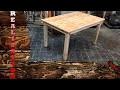 Fabriquer une table en bois de récupération