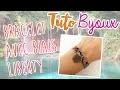 Tuto Bijoux - MON BRACELET AVEC BIAIS LIBERTY - DIY