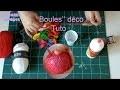 (TUTO DIY) Boules décoratives en laine avec ballons