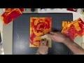 """Découverte d'une technique de fond acrylique avec """"Mosaïque de vie"""""""