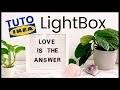 DIY - Comment faire une LightBox avec un cadre RIBBA de chez IKEA et du texte lumineux | TUTO IKEA