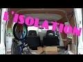 Isoler son camion (facile et pas chère)