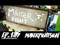 Finalisation du signe MakerFight, avec cadre et leds - Ep. 185 - MakerFightSign