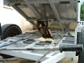 Remorque benne hydraulique fabrication maison