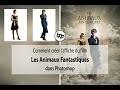Comment Créer Affiche CINEMA Les ANIMAUX FANTASTIQUES dans Photoshop