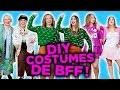 DIY COSTUMES D'HALLOWEEN FACILES DE BFF! | 2e peau
