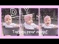 TURBAN POUR ENFANT - DIY - TOP KNOT HEADBAND
