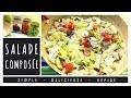Ep 157 - Recette - Salade ComposeÌ�e Simple et Rapide [Rééquilibrage Alimentaire - Régime]