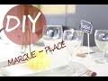DIY | Créez des marque-places originaux pour vos tables de fête