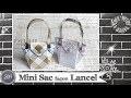 """Vidéo-Tuto """"Mini Sac façon Lancel"""" par Coul'Heure Papier"""
