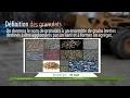 LES GRANULATS  , Matériaux de construction en Genie Civil