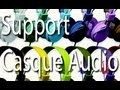 Fabriquer un support de Casque Audio│TUTO