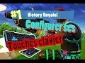 FORTNITE/ COMMENT CONFIGURER SES TOUCHES CLAVIER SOURIS/TUTO !!!