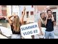 SUMMER VLOG #2 - ON PART A VENISE AVEC LOUISE !