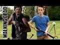 Fabriquer l'arbalète de Daryl