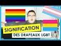 SIGNIFICATION DES DRAPEAUX LGBT !