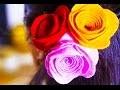 Pince à cheveux personnalisée avec des fleurs en feutrine
