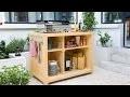 TUTO BRICO - Fabriquer un bar pour cuisine d'extérieure
