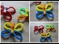 Tuto : Papillon en fils chenille / Cure-Pire - Cleaner Pipe Butterfly
