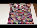 Coudre un tapis avec des chutes de tissu - Tuto Couture Madalena
